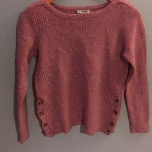 Madewell Button Detail Sweater